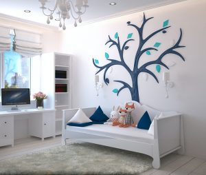 עיצוב חדר ילדים באווירה יוקרתית - בלי לקרוע את הכיס